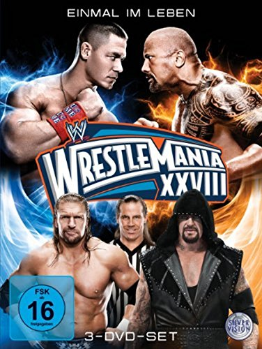 WWE - Wrestlemania 28 [3 DVDs] - Wwe Dvd-2012