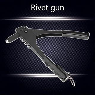 LDCRE Nietwerkzeug Leichte Riveter-Pistole Manuelle Blindnietpistole Hand-Werkzeug Einhandbedienung Auto-Niet für die Metallbearbeitung
