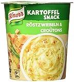 Knorr Kartoffel Snack Röstzwiebeln und Croûtons 1 Portion, 53 g