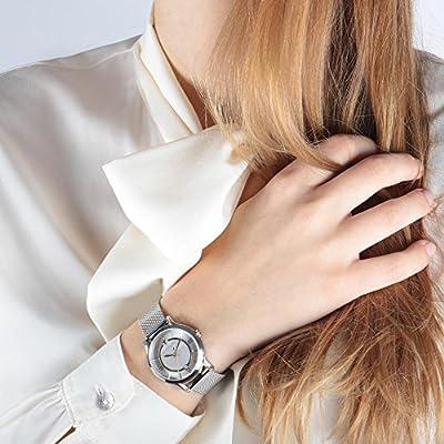 MASERATI Reloj Analógico para Mujer de Cuarzo con Correa en Acero Inoxidable R8853118504 de MASERATI