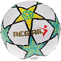 FLAMEER Durable Slip-Resistant Tamaño 5 PU Teenager Game Training Fútbol Soccer Ball