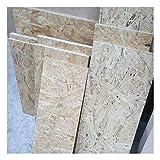 1m² Reste 18mm OSB/3 Grobspanplatte Zuschnitt Holz Platten Feuchtraum-geeignet nach DIN EN 300 Verlegeplatten Holzwerkstoff-Platten Spanplatten