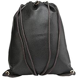 Mi-Pac Gold Kit Bag Bolsa de Cuerdas para el Gimnasio, 37 cm, 18 litros, Tumbled Black