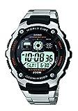 Casio 19652ae-2000wd-1a Herren Uhr Digital Dial Armband metallisch schwarz