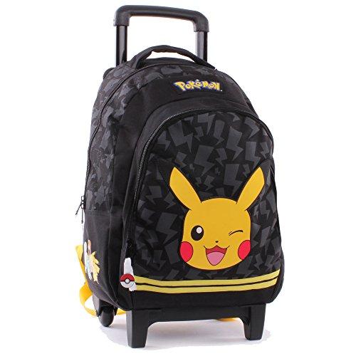 Vadobag Pokemon Soufflet Sac à Dos Enfant 45 cm Noir