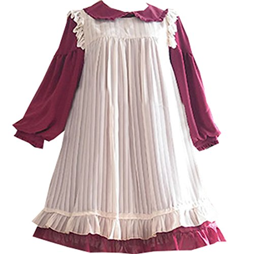 Partiss - Robe - Plissée - Femme abricot