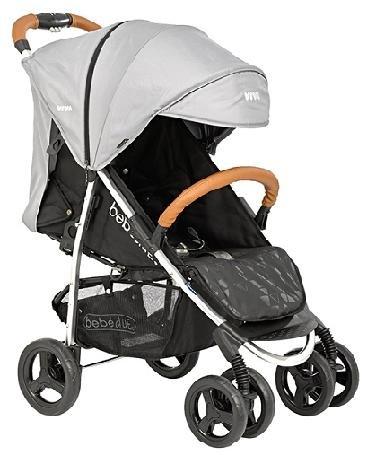 Bebé Due Viva - Silla de paseo, color gris