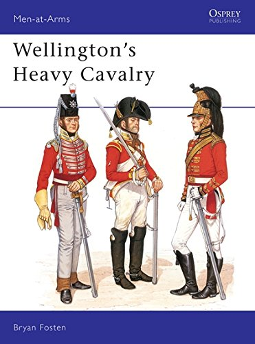 Wellington's Heavy Cavalry (Men-at-Arms) por Bryan Fosten