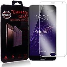 Ycloud Protector de Pantalla para Meizu M2 Note (5.5Pulgada) Cristal Vidrio Templado Premium [9H Dureza][Alta Definicion]