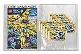 LEGO Nexo Knights 2 - Leere Sammelmappe + 10 Booster - Deutsch