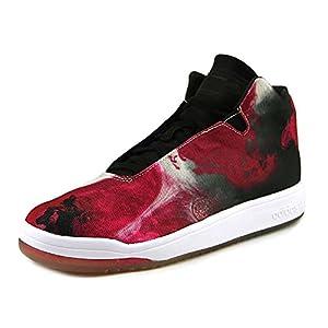 51M8SlERu%2BL. SS300  - Adidas Veritas Mid Mens Casual Sneakers Size Us 8, Regular Width, Color Black/white/pink