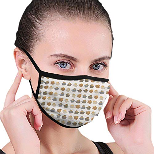 Beautiful Owl Vector Anti Flu And Saw Dust Masks,Reusable Mask Washeable Comfy Breathable Safety Face Mouth Mask-For Outdoor Half Face Masks