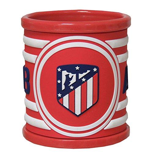 Atletico DE Madrid Taza de Rubber 3D