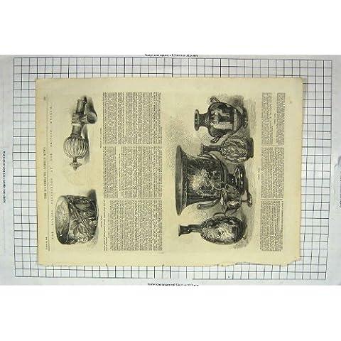 Cuenco De Plata 1867 de los Floreros Griegos de Blacas British Museum