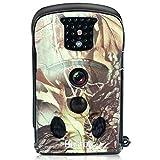 Bestok Trail Cams 12 MP HD 120 ° Cerf Chasse Caméra avec Vision (Vert Clair)