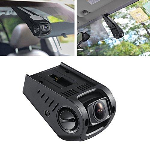"""HD 1080P 2,7"""" LCD Autokamera Dashcam KFZ Kamera + Rückfahrkamera 140° Winkel mit 3,5M Autokabel / USB Auto Ladegerät"""