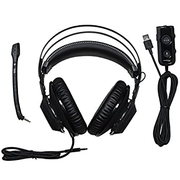 Hyperx Hx-hscrs-gmem Cloud Revolver S Dolby Surround 7.1 Gaming Headset, Gun Metal 3