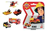Dickie - Feuerwehrmann Sam - Feuerwehrmann Sam Singel Pack, 6-sortiert 1 Stück