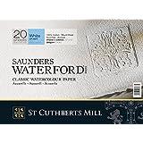 St Cuthberts Mill Saunders Waterford Bloc de papier 310 x 230 mm, Poids du produit : 0,49 kg