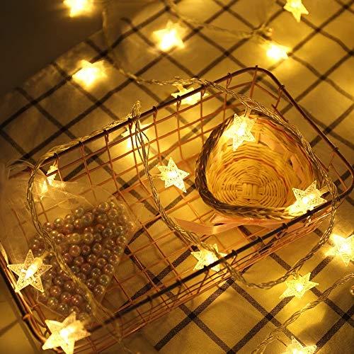ASDAHSFGMN Usb4.5M 30Led Sternschnur Beleuchtet Feenhafte Girlanden-Lichter Geführte Dekoration-Weihnachtsbaum-Hochzeits-Ausgangsinnendekoration