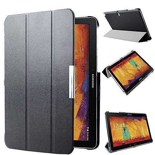 AFesar SM-P600 P601 P605 Schutzhülle für Samsung Galaxy Note 10.1 (2014 Edition), ultradünn, aus PU-Leder, mit Standfunktion, automatischer Sleep- & Wake-up-Funktion