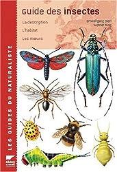 Guide des insectes. La description, l'habitat, les moeurs