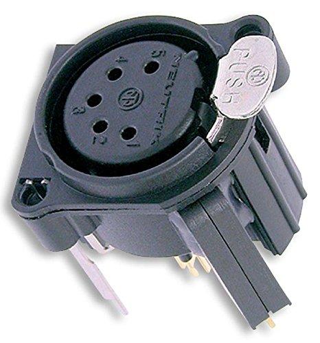 nc5fav-sw Neutrik XLR socket 5P PCB interruttore [1] (Epitome verificato pro-series)
