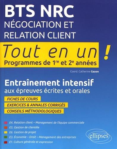 BTS NRC Négociation et Relation Client par