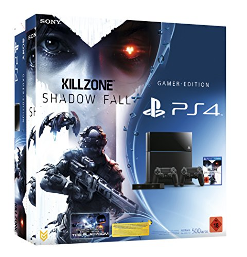Kamera Der Außerhalb (PlayStation 4 - Konsole inkl. Killzone: Shadow Fall + 2 DualShock 4 Wireless Controller + Kamera)