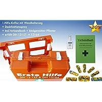 Erste-Hilfe-Koffer KITA DIN 13157 für Betriebe incl. Hygiene-Ausstattung + kindgerechter Pflaster + Verbandbuch... preisvergleich bei billige-tabletten.eu