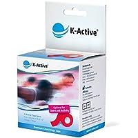 Preisvergleich für K-Active Kinesiologisches Tape Sport I Elastisches Kinesiologisches Tape für hohe Belastungen I reduzierte Dehnfähigkeit...