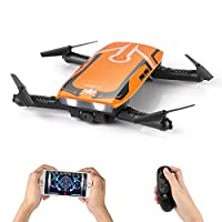 SYMTOP RC Drone Quadcopter H818 6 Axis Gyro Foldable 2.0MP Camera ORANGE