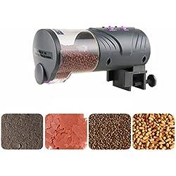 Petacc Distributeur Automatique de Nourriture pour Aquarium/Poisson avec Minuterie 16*8*6cm