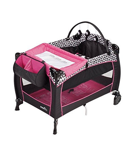 new-love-new-evenflo-portable-babysuite-300-with-dual-pocket-fabric-console-marianna-by-prathai