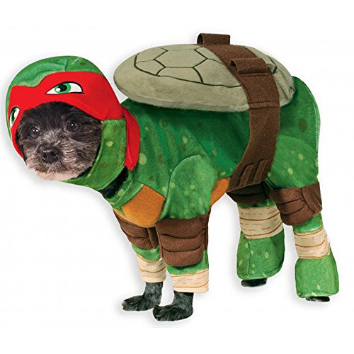 MyPartyShirt Hundekostüm Teenage Mutant Ninja Turtles Raphael