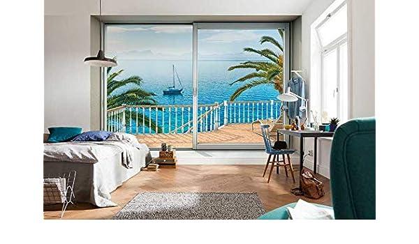 Poster Giganti Per Camere Da Letto : Deco italia fotomurale terrazza sul mare poster gigante per parete