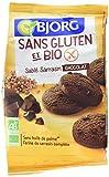 Bjorg Biscuits Sablé au Chocolat sans Gluten Bio 250 g - Lot de 4