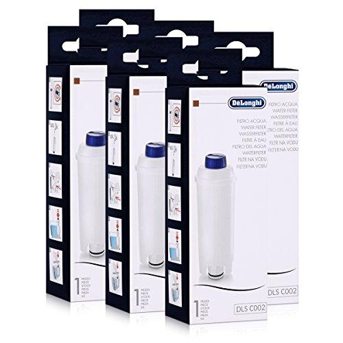 6er Pack DeLonghi Wasserfilter für Kaffemaschinen geeignet für ECAM, ESAM, ETAM, BCO,EC...