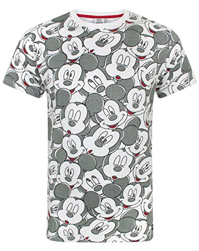 (Mickey Mouse Disney Face All Over Print Men's T-Shirt (XL))