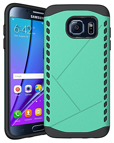 98Gadgets-2-In-1-Hybrid-Case-Cover-For-Samsung-Galaxy-S7-Edge-Hard-Cool-Slim-Cover-Protective-Green