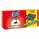 CATCH Set de 6 Contaminateurs Anti-cafards