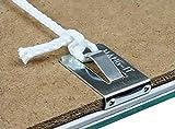 hang-its appenderlo clip su grucce 2mm Board Picture framing cornice appesa–Confezione da 100