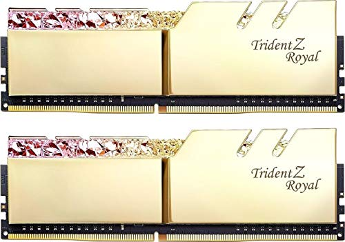 G.Skill Trident Z Royal 16GB DDR4 3200 MHz Arbeitsspeicher Module (16 GB, 2 x 8 GB, DDR4, 3200 MHz) -