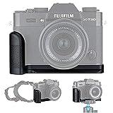 Empuñadura Metal Grip para Fujifilm Fuji X-T30 X-T20 X-T10 reemplaza Fujifilm MHG-XT10 Empuñadura