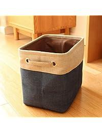 DESIGNEEZ New Hot Nylon Folding Storage Bag Basket Organizer Kids Toys Storage Box Underwear Clothes Organizers...