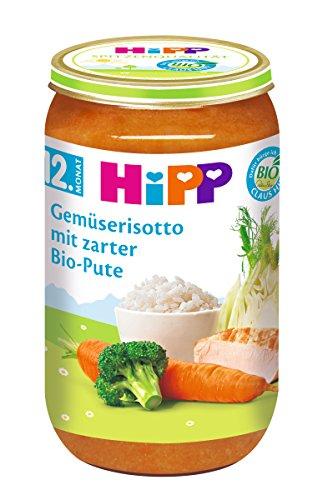 HiPP Gemüserisotto mit zarter Bio-Pute, 6er Pack (6 x 250 g)