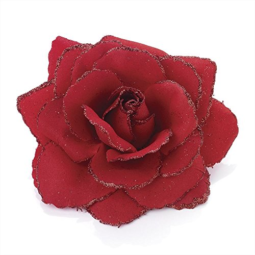 large-red-glitter-edge-rose-flower-hair-elastic-band-and-beak-clip-fascinator
