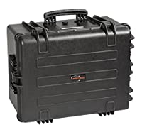 Explorer Cases 5833BPH Waterproof Case with Padded Divider System & Convoluted Foam Lid, Black