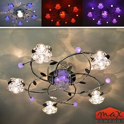 """Deckenleuchte """"Branco"""" 6FL LED Deckenlampe Farbwechsel Fernbedienung Lampe NEU von Maxkomfort auf Lampenhans.de"""