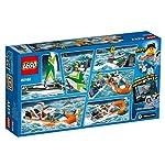 Lego-City-Salvataggio-della-Barca-a-Vela-60168-Lingua-Italiana-Non-Garantita